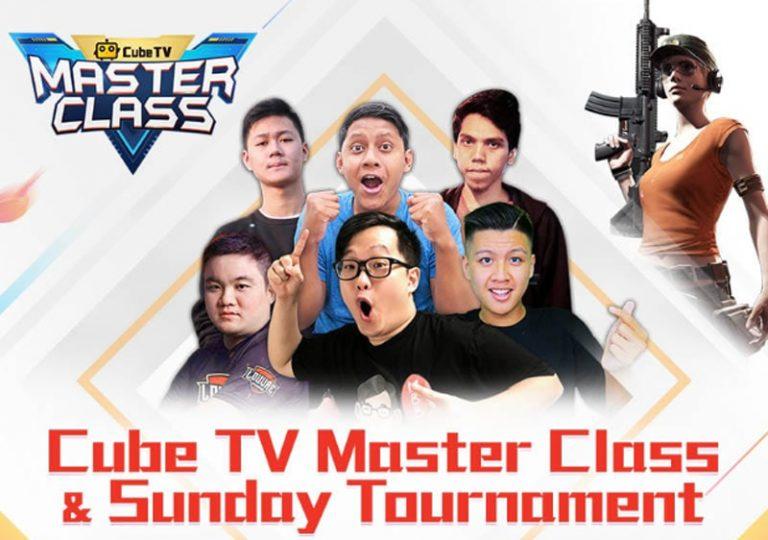 Cube TV Gelar Program 'Cube TV MasterClass', Sediakan Total Hadiah USD 40 Ribu untuk Gamers