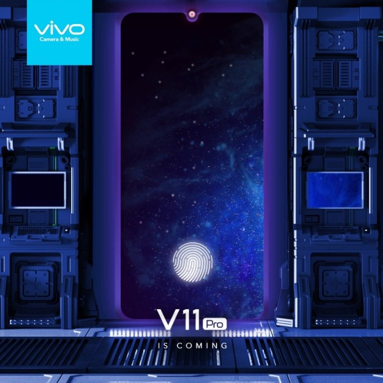 Pasti Hadir di Indonesia, Vivo V11 Pro Sertakan Notch Minimalis dan in-Display Fingerprint