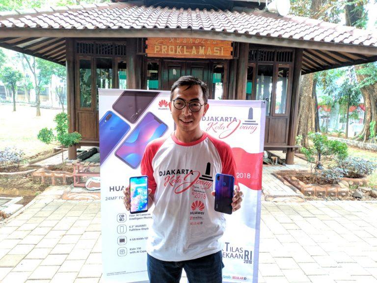 Meriahkan HUT RI ke-73, Huawei Gelar Napak Tilas Kemerdekaan RI 2018