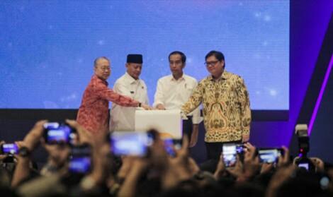 Resmi Buka Pameran GIIAS 2018, Presiden Jokowi Menyoroti Dua Hal Ini
