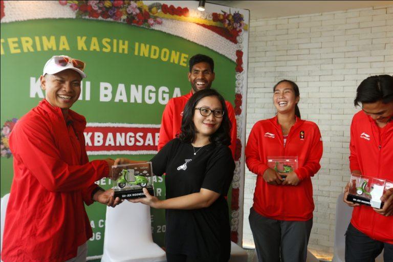Go-Jek Apresiasi Atlet Peraih Medali Emas Asian Games 2018