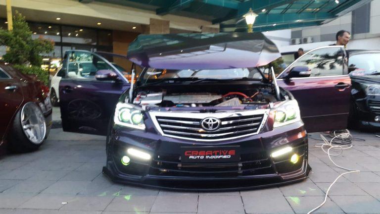 Autovision Ray of Light Pekanbaru Menobatkan Toyota Camry Sebagai Champion