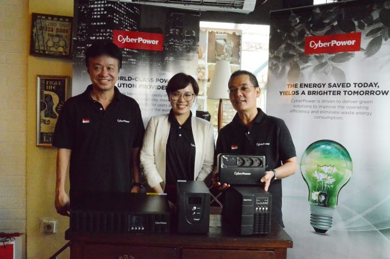CyberPower Luncurkan Aneka Produk Power Solution di Indonesia