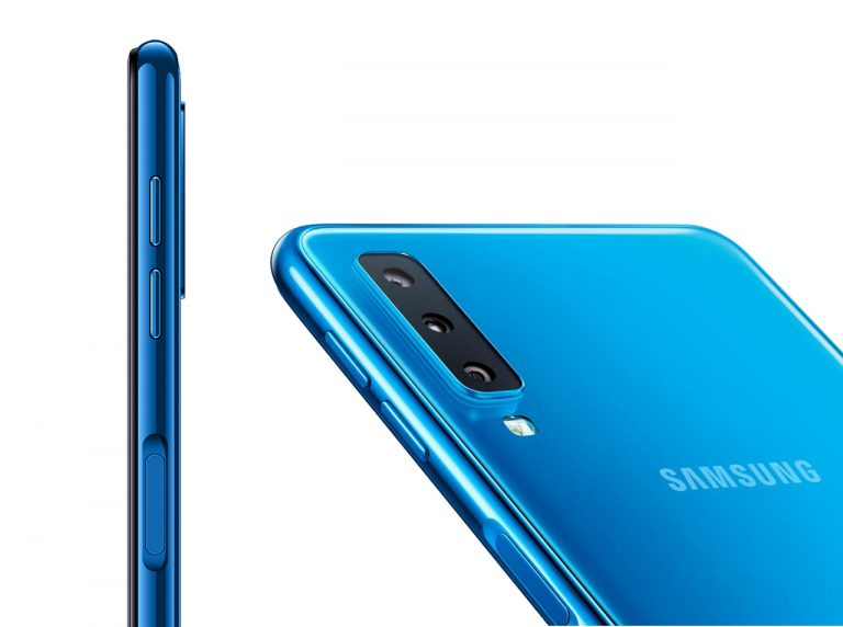 Bukan di Flagship, Samsung Adopsi Tiga Kamera di Ponsel Mid-Range Galaxy A7