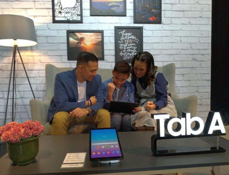 Luncurkan Tablet Galaxy Tab A 10.5, Samsung Ingin Hadirkan Kembali Kebersamaan di Tengah Keluarga