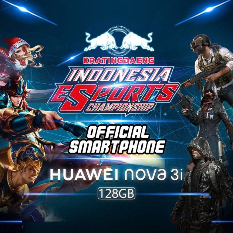 Huawei Bangga Jadi Official Smartphone di Ajang Indonesia E-Sport Championship 2018