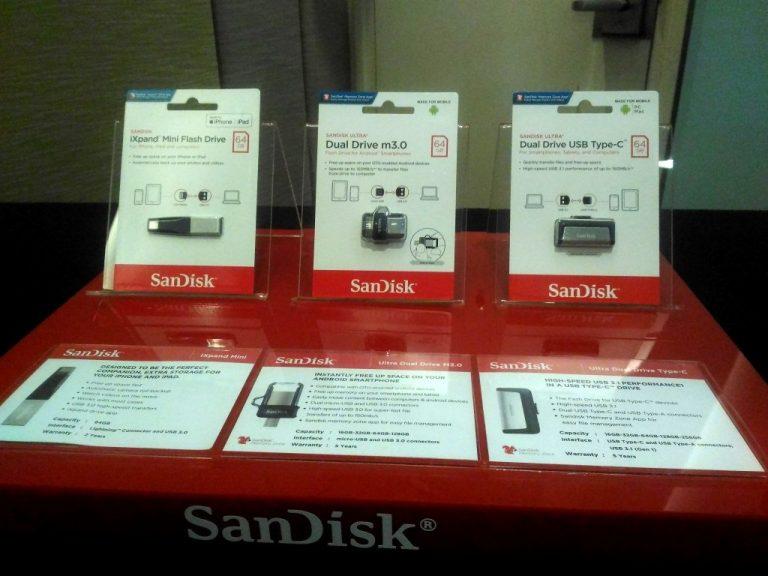 SanDisk Pamerkan Jajaran USB Flash Drive untuk Smartphone dan Solusi SanDisk Memory Zone