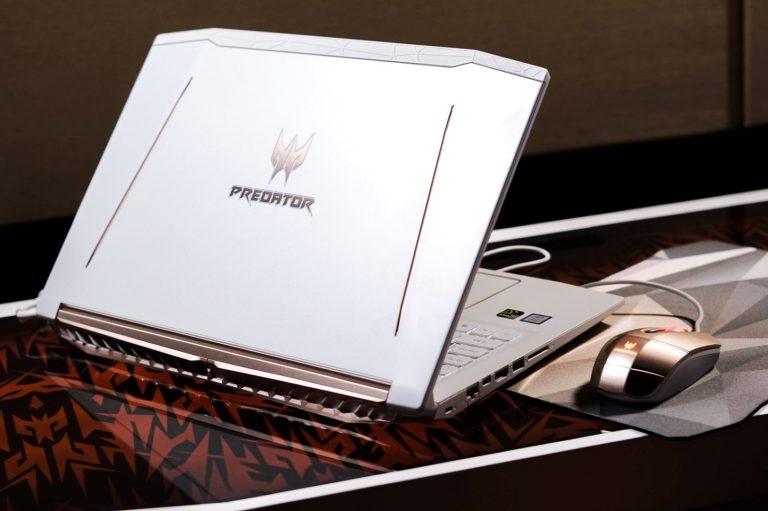 Tampil Beda, Acer Keluarkan Notebook Gaming Helios 300 SE Berwarna Putih