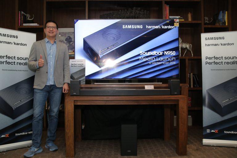 Kolaborasi Perdana, Samsung-Harman Kardon Rilis Speaker Flagship Soundbar HW-N950