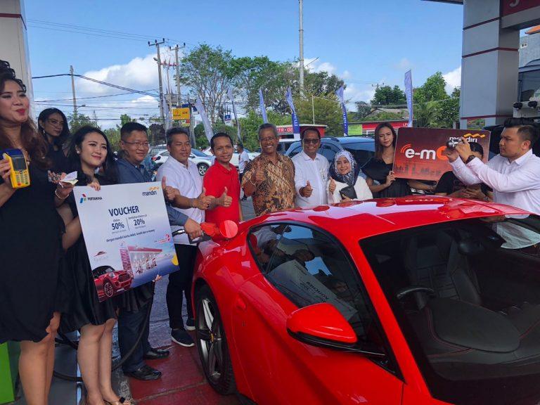 Di Bali, Beli Pertamax Turbo Pakai Kartu Mandiri Dapat Voucher Diskon 50% di Red Car AutoDetailing