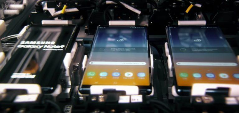 Intip Proses Pembuatan Samsung Galaxy Note 9, Yuk!