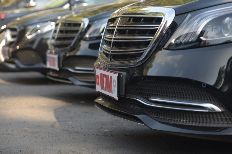 Sukseskan Konferensi Tingkat Dunia IMF-World Bank, Mercedes-Benz Kerahkan 48 Unit Kendaraan
