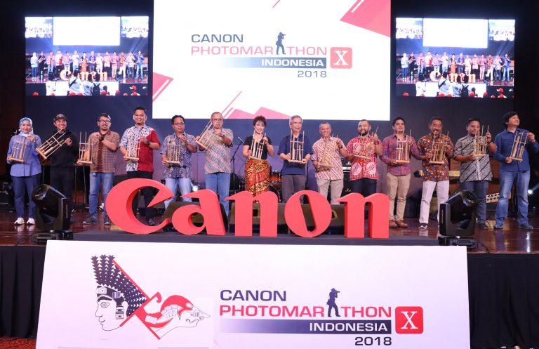 Canon Sukses Selenggarakan Canon PhotoMarathon Indonesia 2018 di UPH Karawaci
