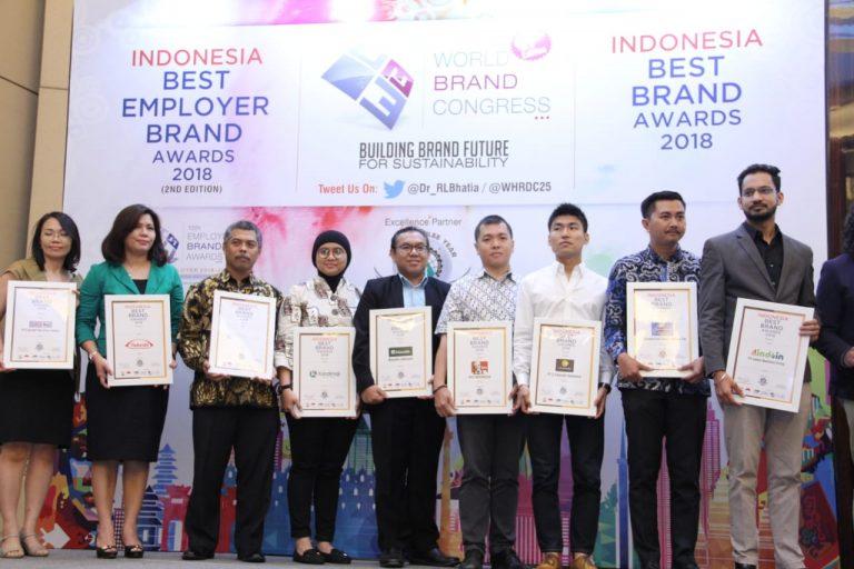 Sejumlah Perusahaan ICT Terima Best Brand Awards