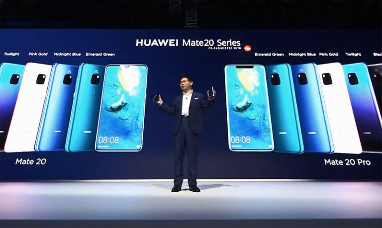 Seabrek Inovasi Huawei Mate 20 Pro: Kirin 980, Matrix Camera, Wireless Charging Dua Arah, dan 3D Live Emoji