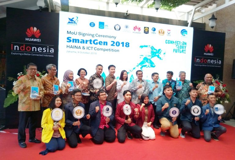 Huawei Gelar Kompetisi ICT Bermitra dengan Delapan Universitas di Ajang SmartGen 2018
