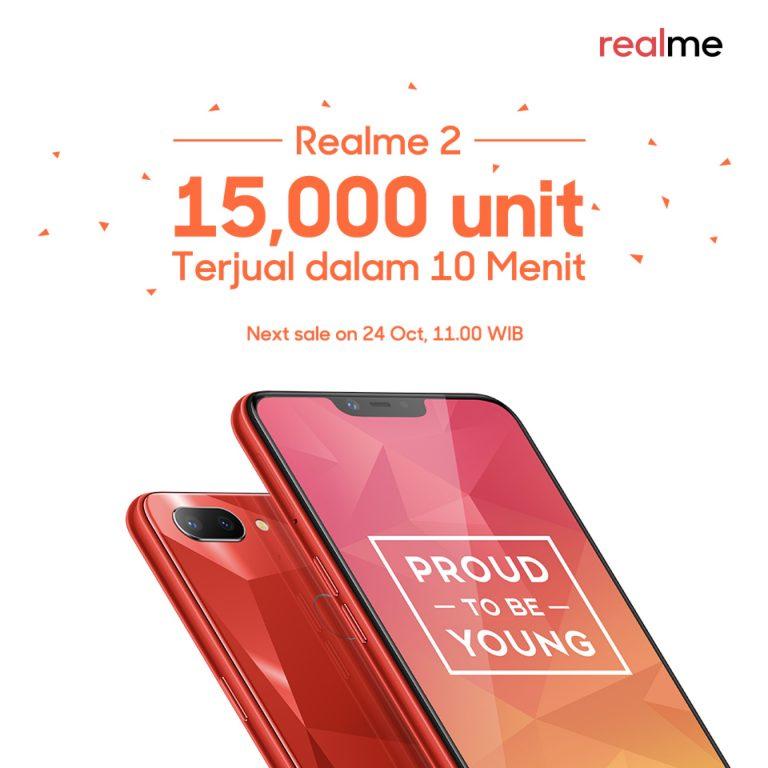 Dijual Perdana, Ponsel 'Xiaomi Killer' Realme 2 Diklaim Ludes dalam 10 Menit