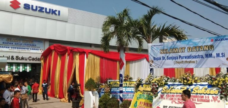 Suzuki Hadirkan Outlet Baru dengan Layanan 3S di Cirebon