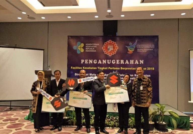 Suzuki Donasikan Ambulans ke Puskesmas Sungai Apit, Siak Riau