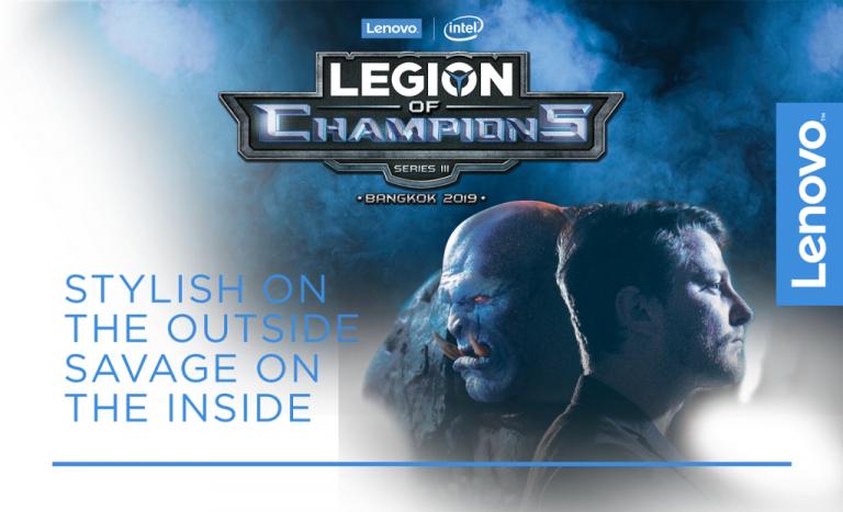 Lenovo Menggali Gamer Lokal Berbakat untuk Berlaga di Turnamen Legion of Champions III