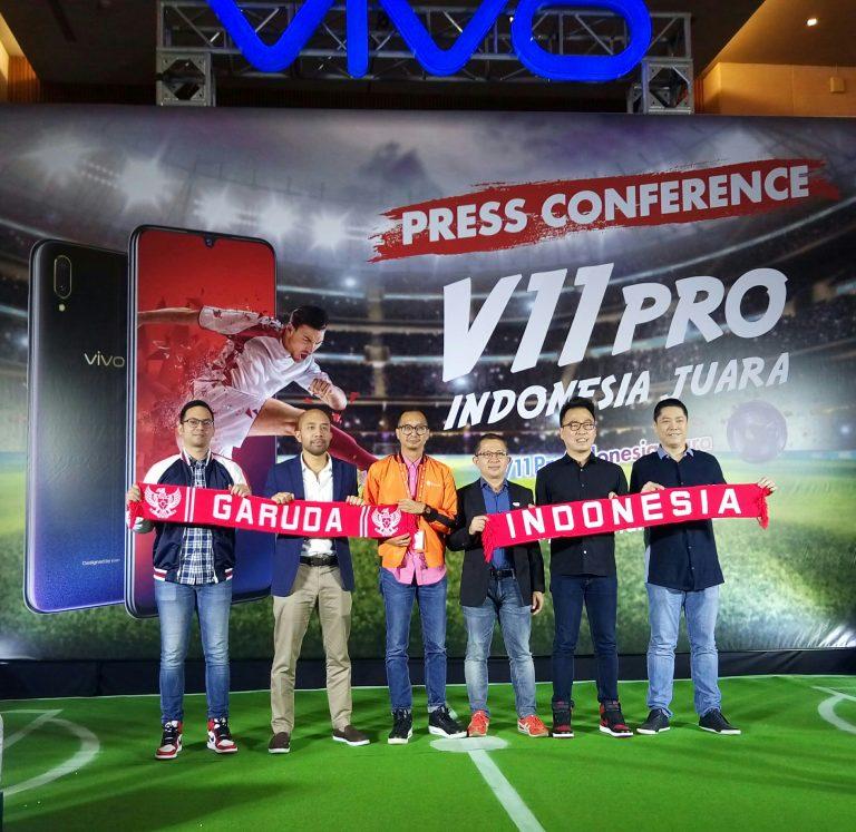 """Dukung Sepak Bola Indonesia, Vivo Luncurkan Kampanye """"V11 Pro Indonesia Juara"""""""