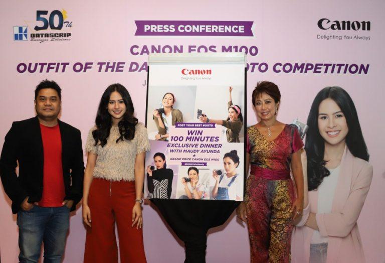 Canon Menggelar Canon EOS M100 OOTD Photo Competition, Hadiahnya Bikin Ngiler!