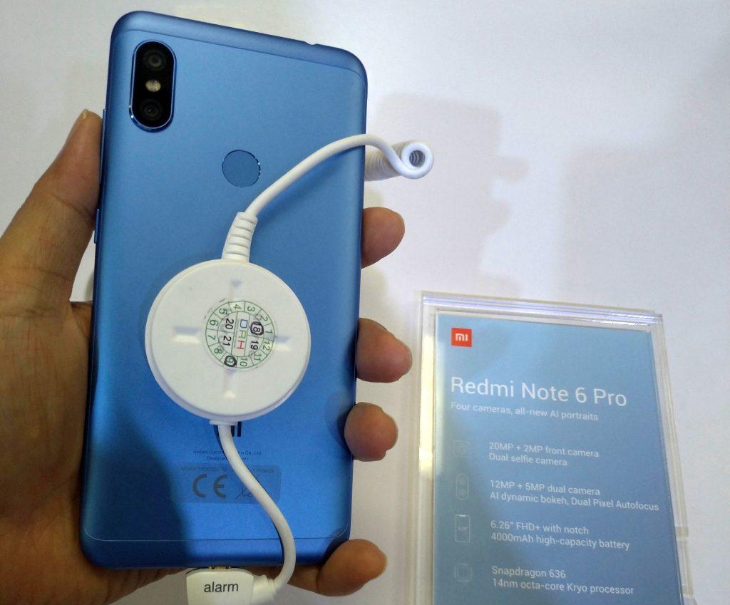 Redmi Note 6 Pro dan Mi 8 Lite