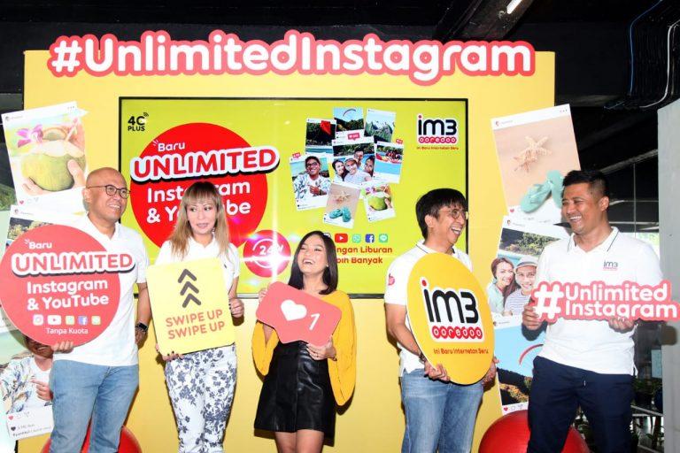 Sasar Para Pengguna Instagram, IM3 Oreedoo Luncurkan Paket Unlimited Instagram