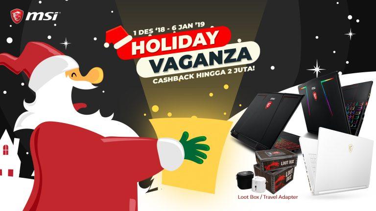 MSI Gelar 'Holiday Vaganza' untuk Menyambut Musim Liburan
