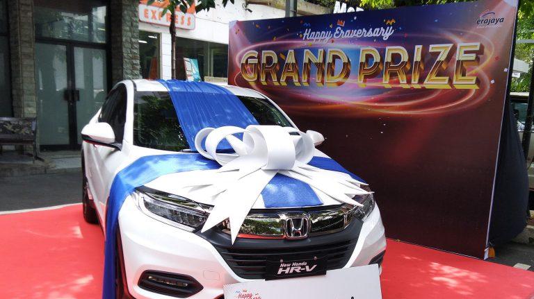 "Dua Mobil HRV dari HUT Erajaya ""Eraversary 2018"" Sudah Ada Pemiliknya"