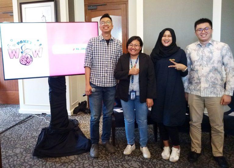 Ayopop Bersama XL AXIATA dan VIU Indonesia Luncurkan Paket WOW Millenial