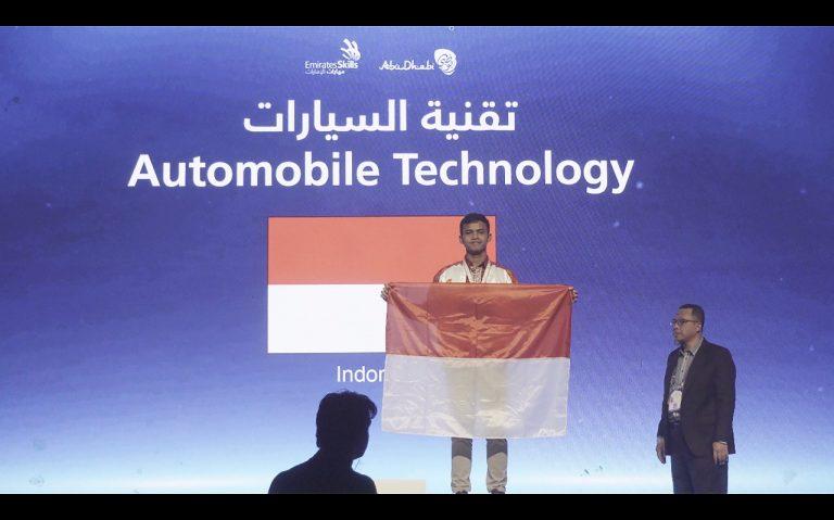 Teknisi Nissan Ini Berhasil Raih Medali Perak di Ajang World Skill Asia 2018