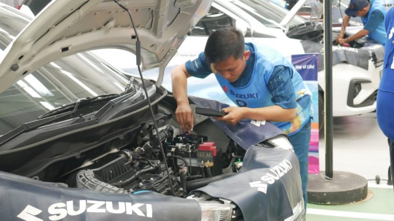 Stop Produksi, Suzuki Jamin Layanan Pelanggan Tetap Prima