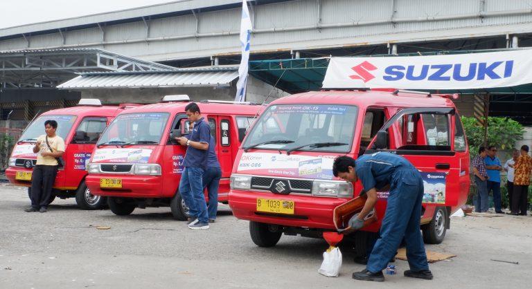 Manjakan Angkutan Kota Jakarta, Suzuki Gelar Program Servis Gratis untuk 500 Angkot KWK