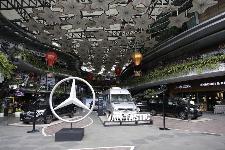 VAN-TASTIC, Persembahan 4 Hari Mercedes-Benz Menutup Tahun 2018