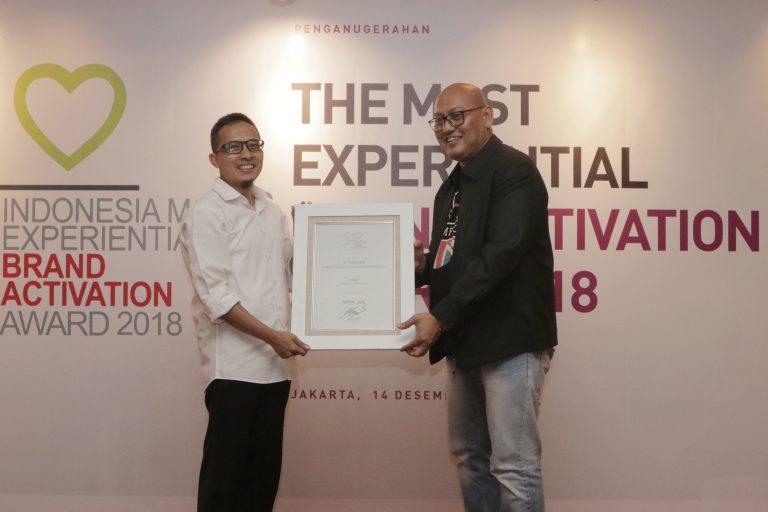 Canon Raih Predikat 'The Most Experiental Brand Activation Award 2018'