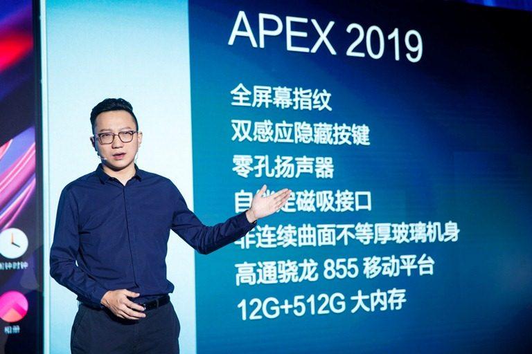 Purwarupa APEX 2019: Sambut Era 5G dengan Desain Super Unibody dan Teknologi Full-Display Fingerprint Scanning