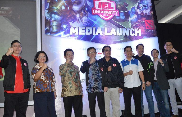 IEL University Series 2019, Liga Kampus Resmi Pertama di Indonesia Siap Digelar