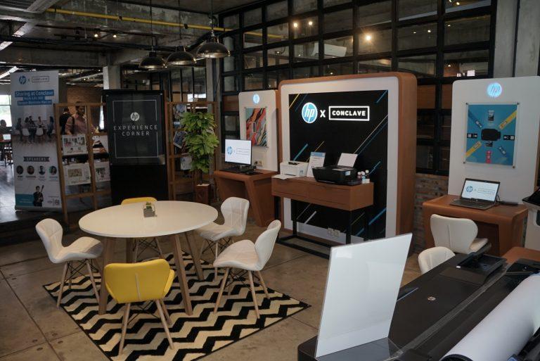 HP dan Conclave Wujudkan 'HP Experience Corner'
