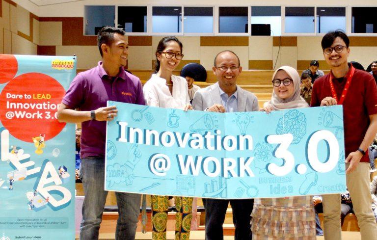 Pacu Karyawannya Makin Inovatif, Indosat Gelar Innovation@Work 3.0