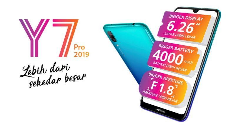 Tahun 2019, Melalui Huawei Y7 Pro Huawei Janjikan Produk dengan Tenaga Besar Tetapi Terjangkau
