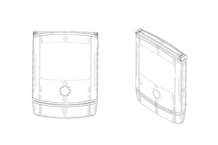 Desain Ponsel Lipat Motorola RAZR 2019 Terungkap dalam Pengajuan Paten