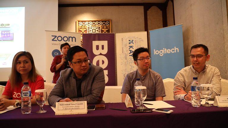 Sinergi BenQ, Logitech dan ZOOM Lahirkan Simplifying Collaboration
