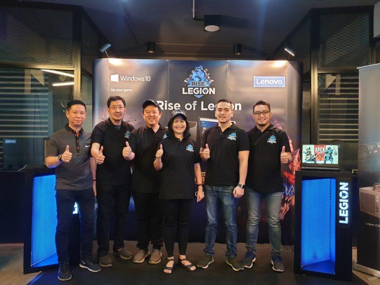 """Serius di eSports, Lenovo Selenggarakan Turnamen """"Rise of Legion"""" di Berbagai Kota"""
