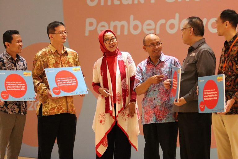 Dukung Pendidikan dan Pengembangan SDM di Indonesia, Indosat Ooredoo Donasikan 1.400 Komputer