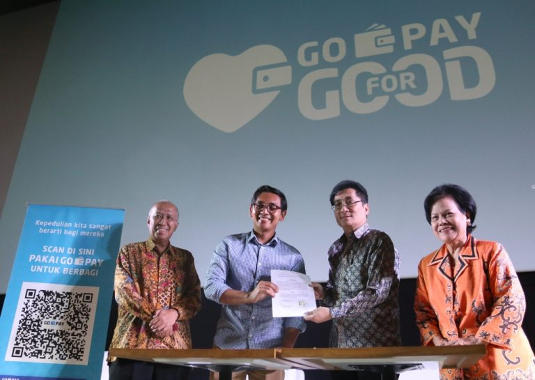 Go-Pay Berkolaborasi dengan Filantropi Indonesia Hadirkan Program Donasi Digital