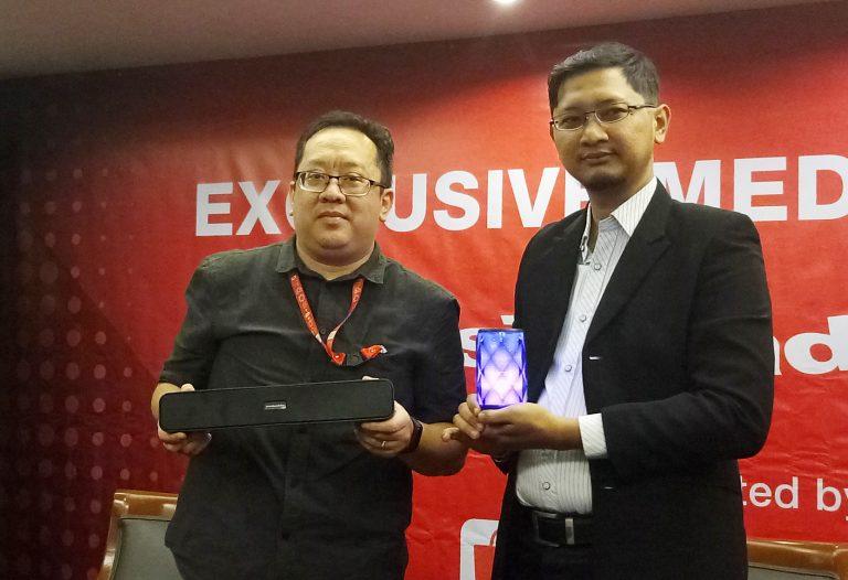 Sasar Kaum Millenial, Simbadda Rilis Dua Speaker Portable Cantik