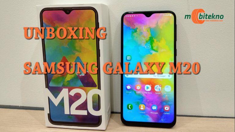 Ini Dia Isi Paket Samsung Galaxy M20 yang Baru Hadir di Indonesia