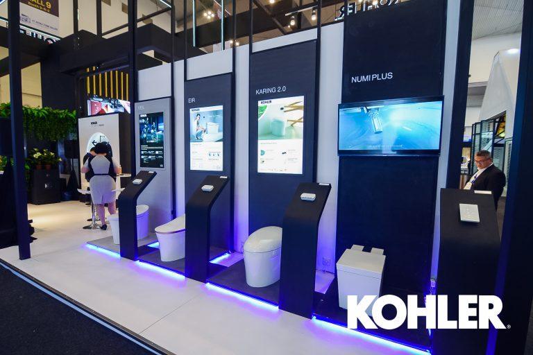 Kohler Hadirkan Rangkaian Produk Berkategori Smart di IndoBuildTech 2019
