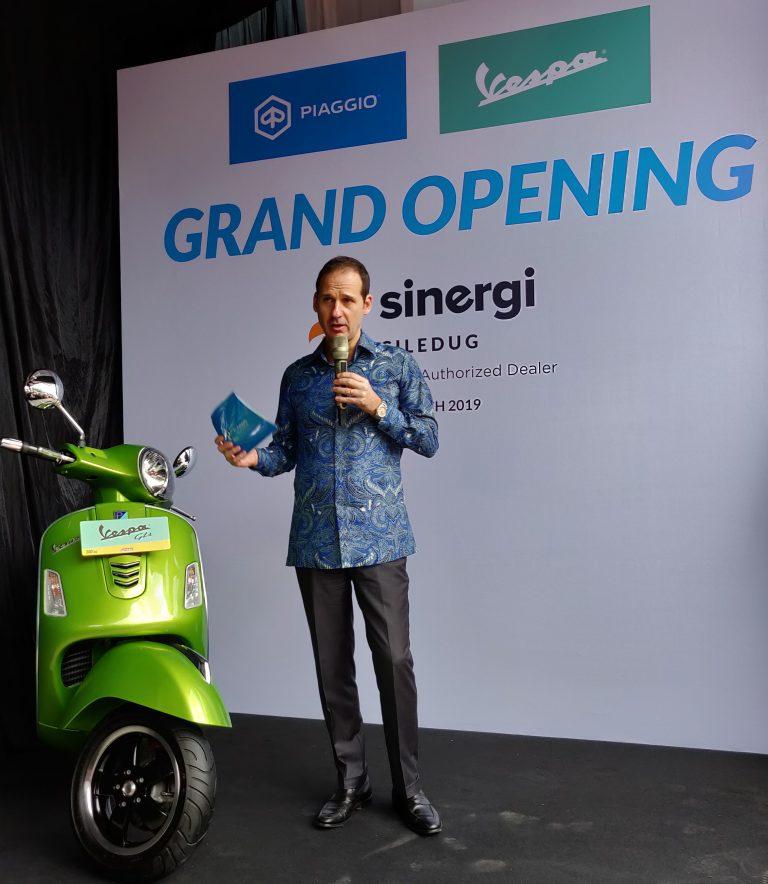 PT Piaggio Indonesia Perluas Jaringan Diler Terbaru di Tangerang Selatan